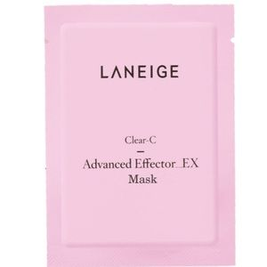 NWT Laneige Clear-C Advanced Effector Sheet Mask